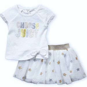 Juicy Couture NWT Infant 18M 24M Top Peplum